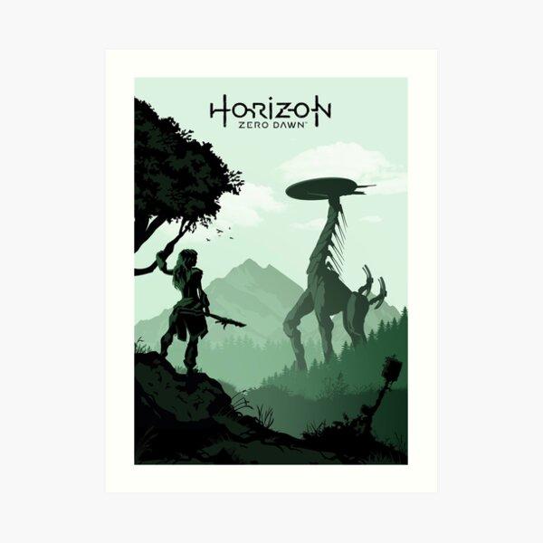 Horizon Zero Dawn Art Print