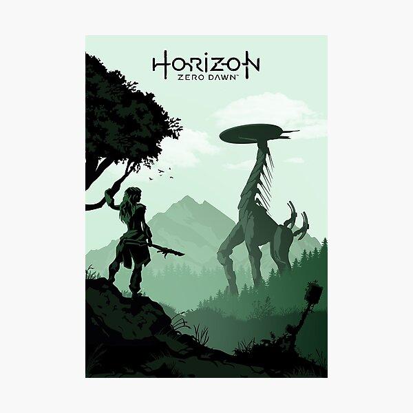 Horizon Zero Dawn Lámina fotográfica
