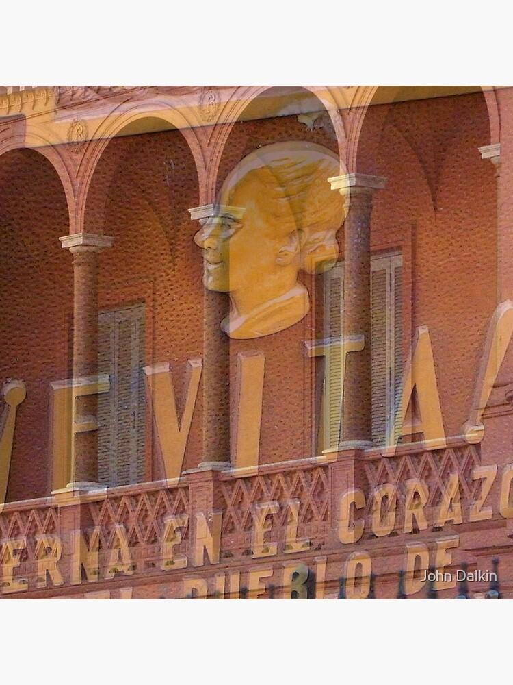 Evita at the Casa Rosata by JohnDalkin
