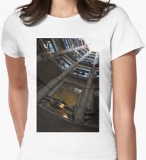 Whimsical, Intricate Antoni Gaudi Architecture  Womens Fitted T-Shirt