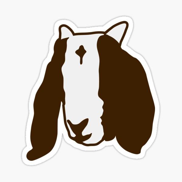 Boer Goat Head Sticker