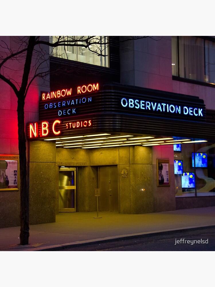Nbc 30 Rockefeller Center Observation Deck Tote Bag By Jeffreynelsd Redbubble