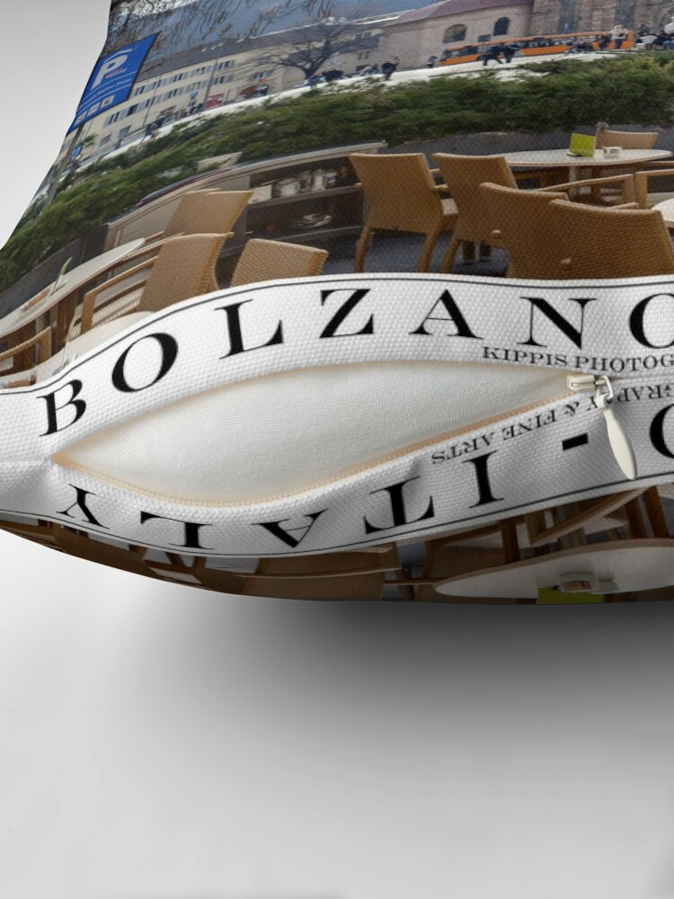 Alternate view of bolzano Throw Pillow