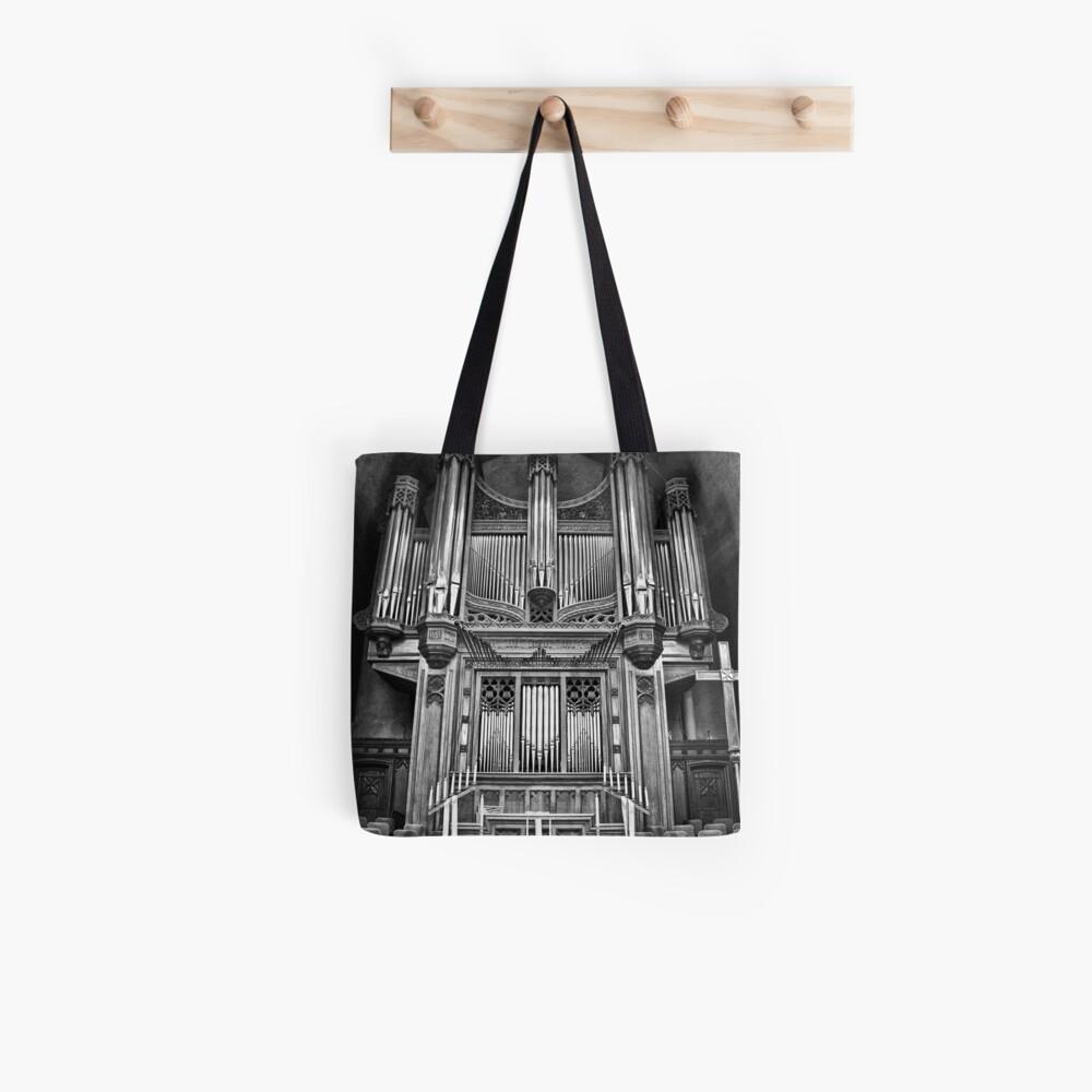 Massive Music B/W Tote Bag