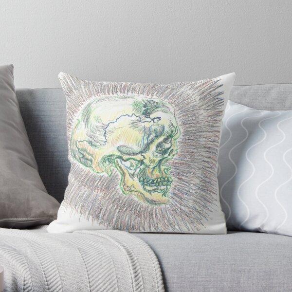 Unmasked  Throw Pillow