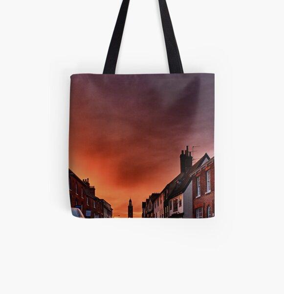 Shepherd's Warning All Over Print Tote Bag