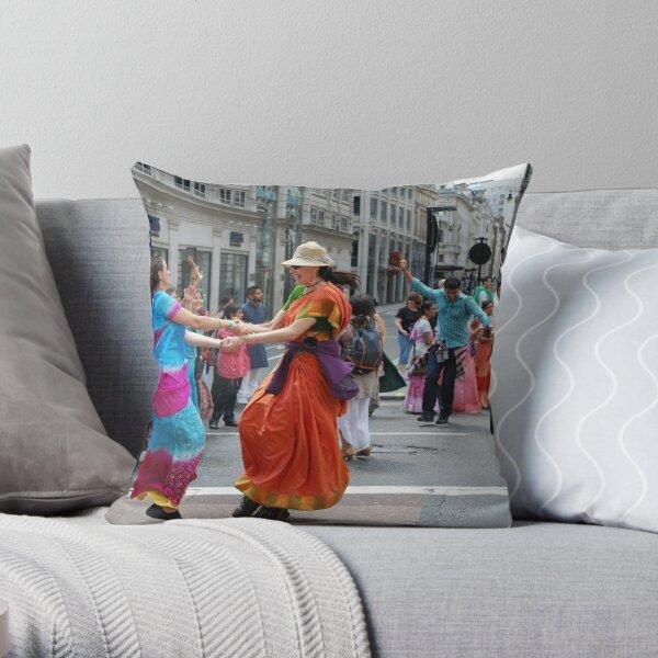 London Rath Yatra 2012 Throw Pillow
