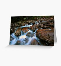 """Smoko Creek"" Greeting Card"