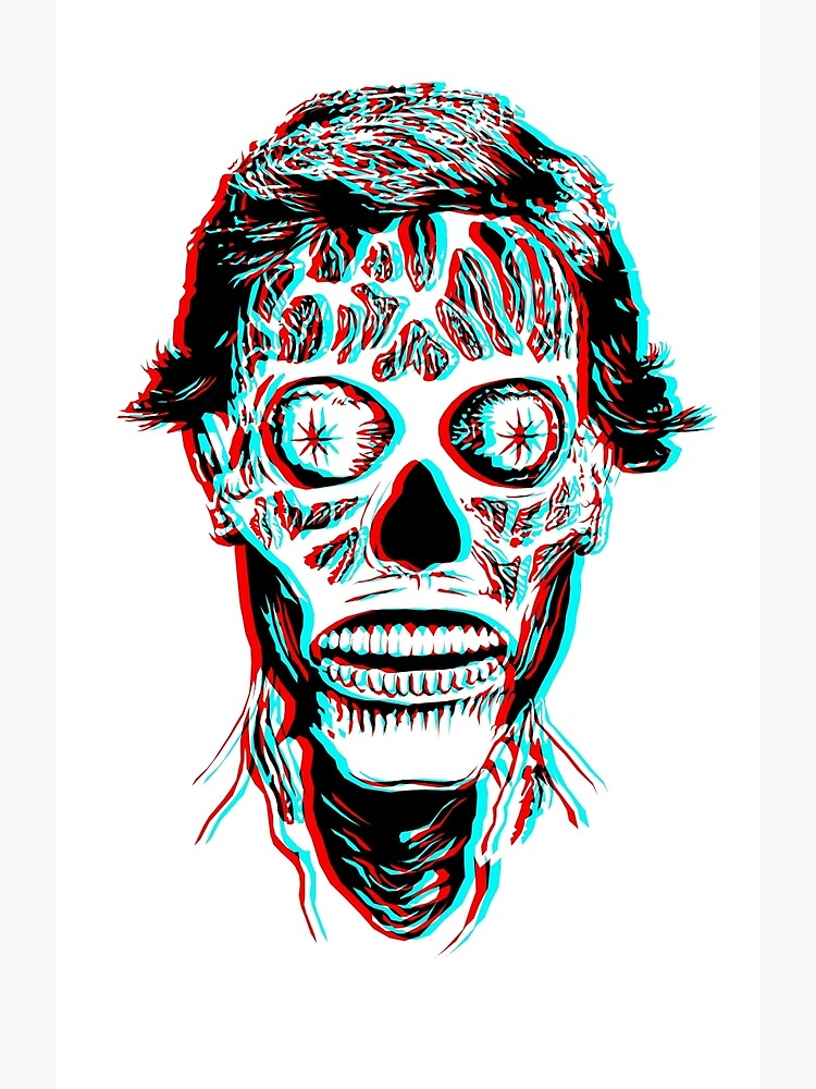 They Live 3D | Canvas Print