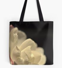 Pure Petals Over Darkness Tote Bag