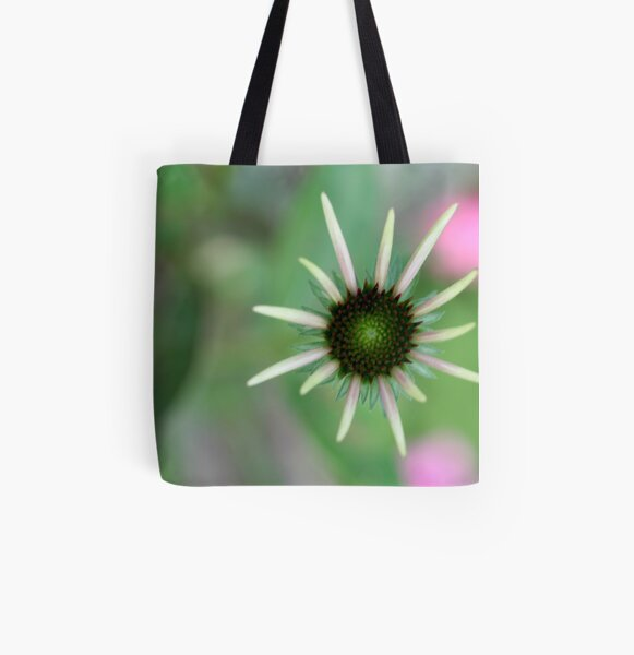 bloom out of the blur All Over Print Tote Bag