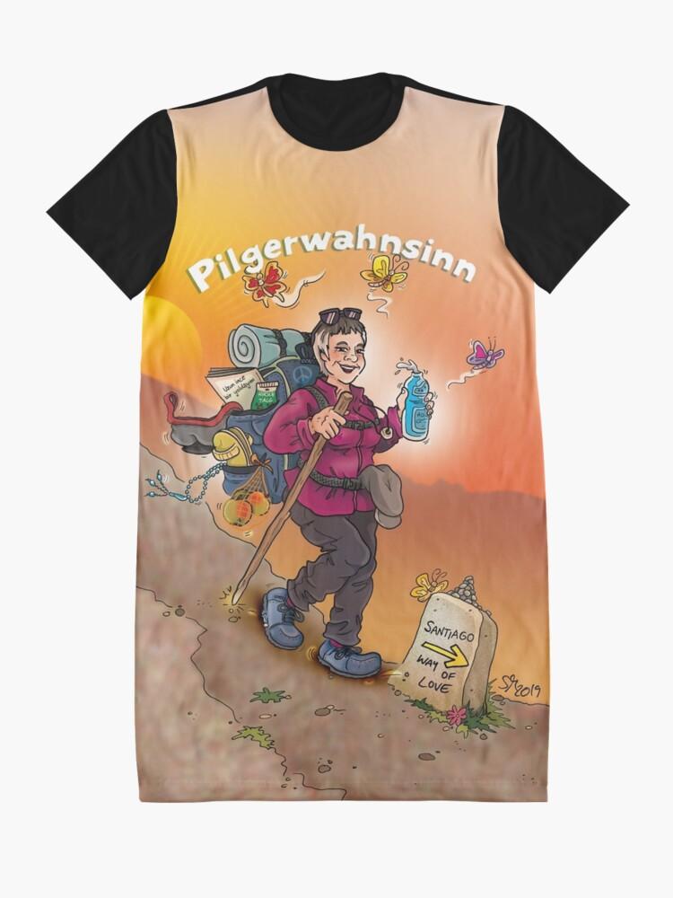 Alternative Ansicht von Pilgerwahnsinn II T-Shirt Kleid