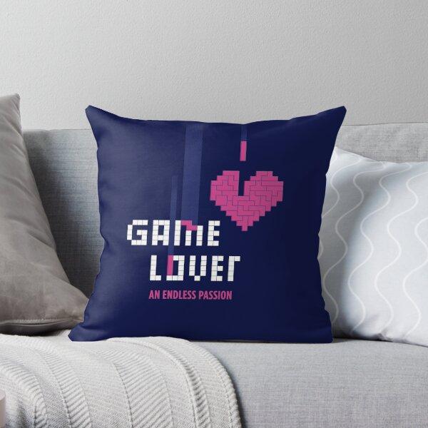 Game Lover Throw Pillow