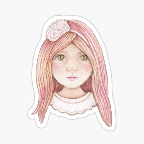 sweet little candy girl  Sticker