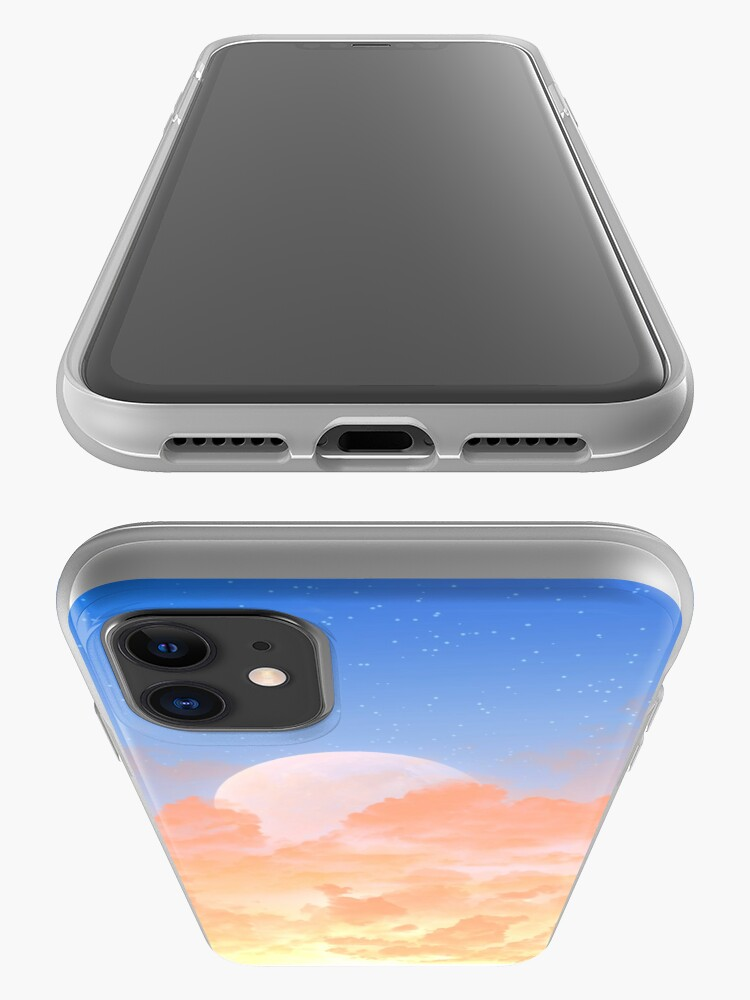 Alternate view of Sun Set & Moon Rise iPhone Case & Cover