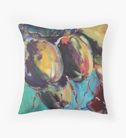 coconuts revisited Throw Pillow