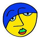 «Cara de hombre triste de color» de Istvan Ocztos