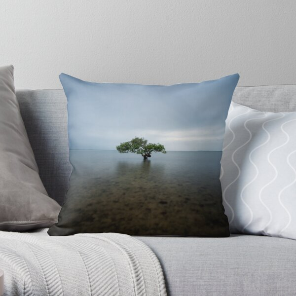 """I Stand Alone"" ∞ King Island, QLD - Australia Throw Pillow"