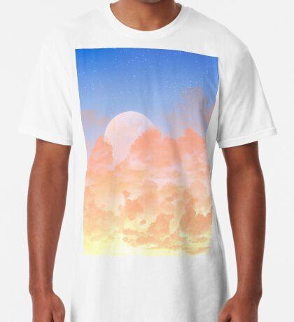 Sun Set & Moon Rise Long T-Shirt