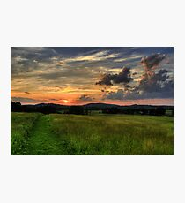 Wolfs in the sky Photographic Print