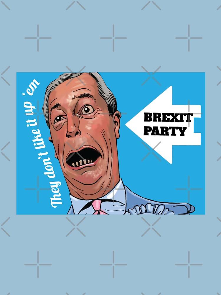 Nigel Farage Brexit Party - Brexit Party Shirt - Funny Brexit Party t-shirt - Farage Brexit Party by happygiftideas