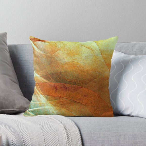 Unchained Illusion Throw Pillow