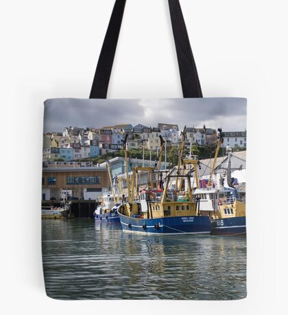 Brixham Trawlers Tote Bag