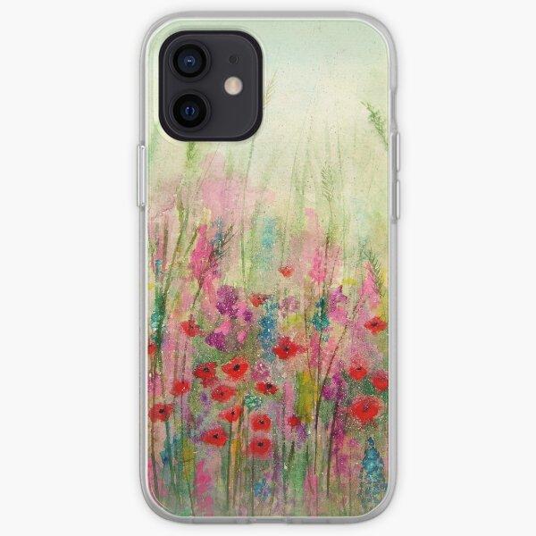 'Spring Meadow' - original watercolour 2015 iPhone Soft Case
