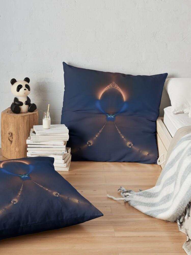 Alternate view of The Chapel Floor Pillow