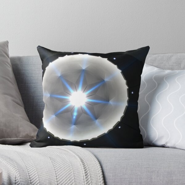 The Stars Come Out To Play Throw Pillow