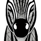«Zebra en blanco y negro» de artetbe