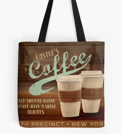 Castle's Coffee T-Shirt Tote Bag