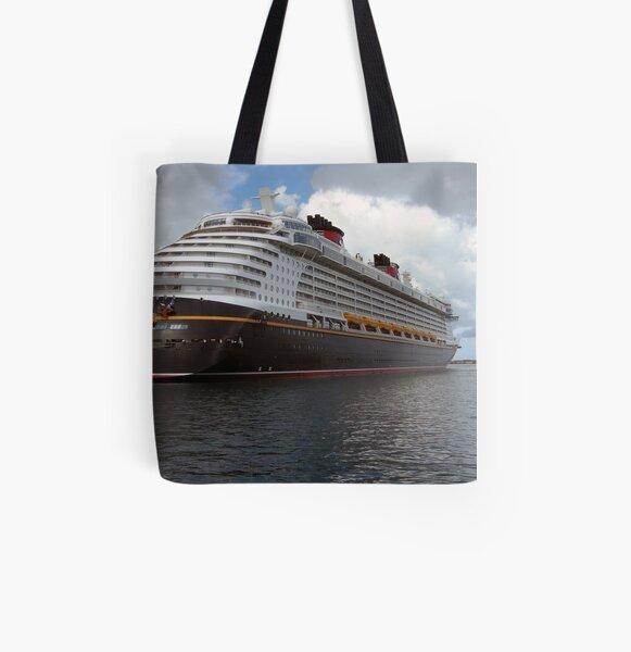 The Disney Dream Nassau, Bahamas  All Over Print Tote Bag
