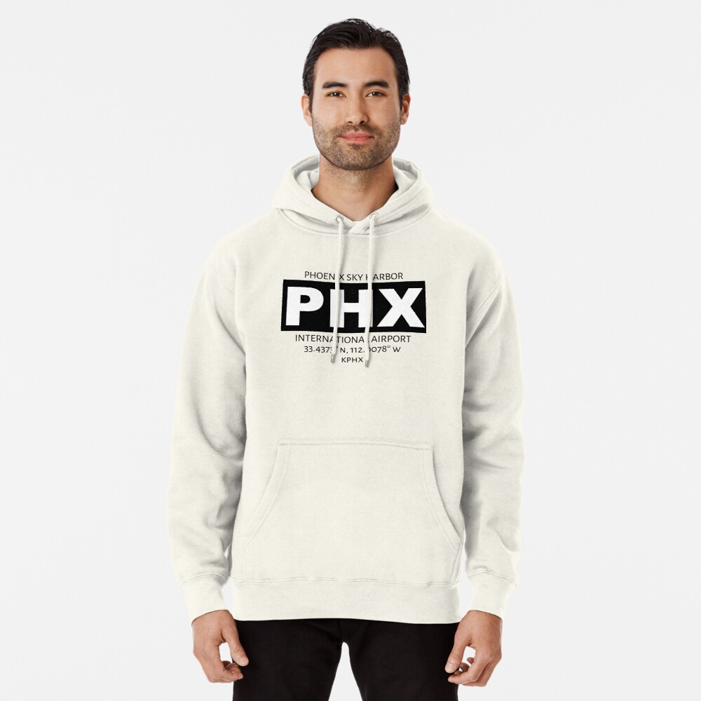 Phoenix Sky Harbour International Airport PHX Pullover Hoodie