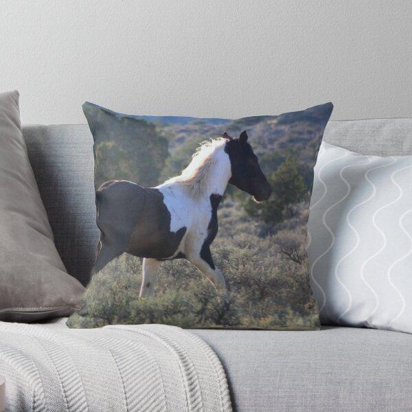 Wild Paint Throw Pillow
