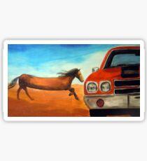 The Long Horse Sticker