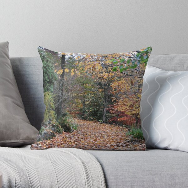 SEFTON COTTAGE, MOUNT WILSON Throw Pillow