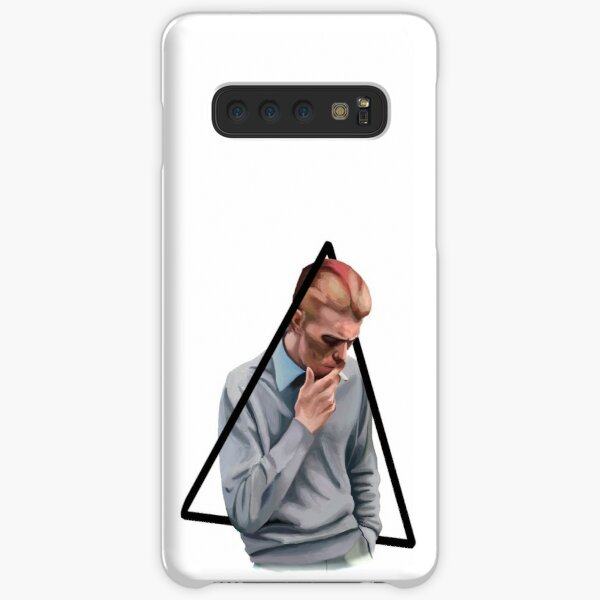 Bowie (transparent background) Samsung Galaxy Snap Case