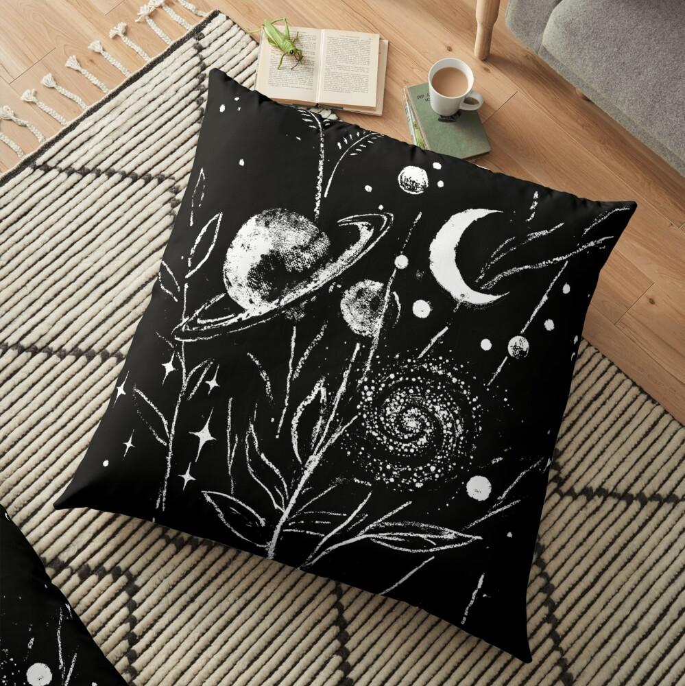 Space Botanica Floor Pillow