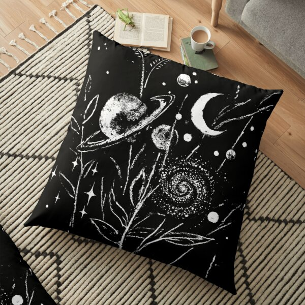 Space Botanica Floor Pillow