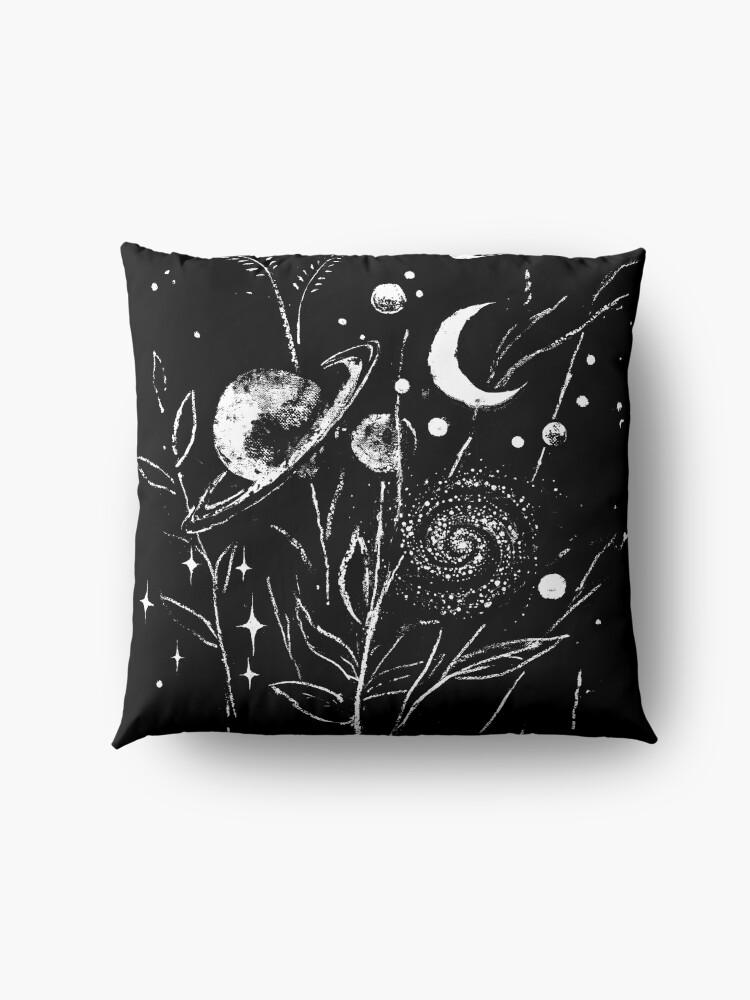 Alternate view of Space Botanica Floor Pillow