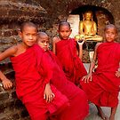 Novices of Mrauk Oo by Brian Bo Mei