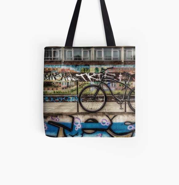Lock Down All Over Print Tote Bag