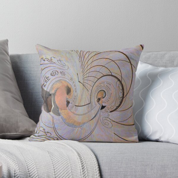 Curved space-time 5 Throw Pillow