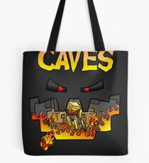 Super Spellbound Caves - Blaze Poster Tote Bag