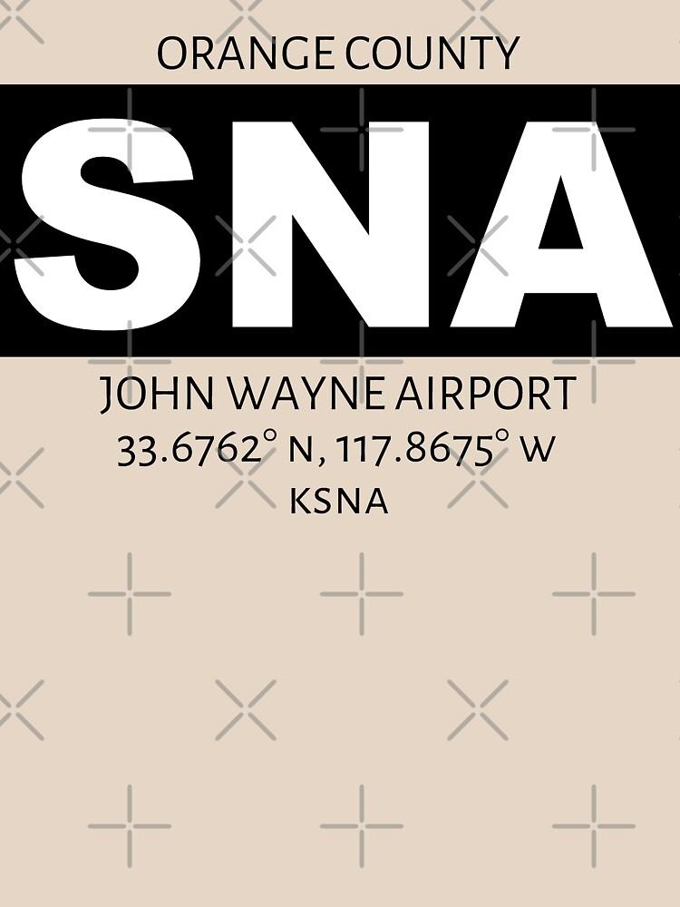 Orange County John Wayne Airport SNA by AvGeekCentral