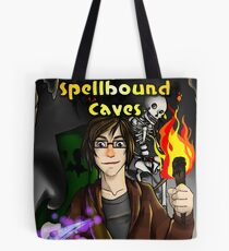 Super Spellbound Caves - Discovery Poster Tote Bag