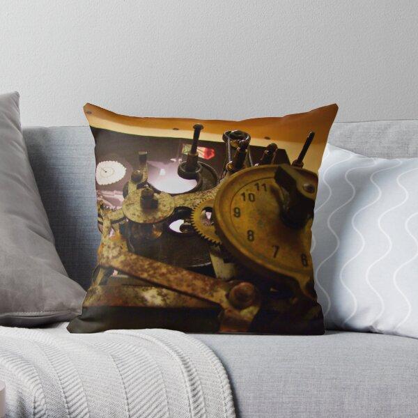 TIMECHANISM Throw Pillow