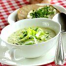 Leek Chiffonades Soup  by SmoothBreeze7