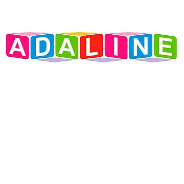 Hello My Name Is Adaline Name Tag by efomylod